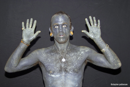 Lucky Rich Diamond: now the most tattooed man in the world in the Guinness Book of World Records
