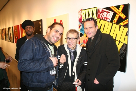 Ronny, Ronny Cutrone, & Kevin @ Cutrone opening