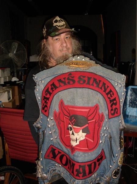Satan[s Sinner Nomads Cochise jacket-