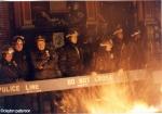 Cops barricade & fireglob