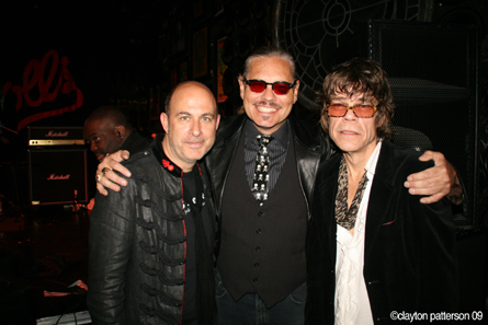 Billy LeRoy, John Varvatos, David Johansen NY Dolls