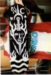 clayton skateboard art