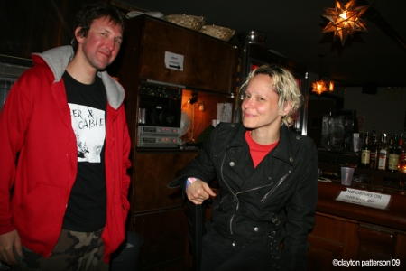 Perry of ICU @ Bowery Ballroom Lorraine's show
