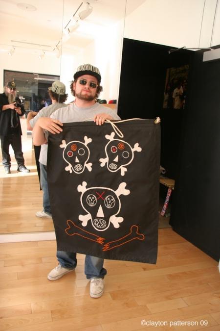 Ben Solomon and Clayton Patterson Art work
