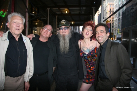Lyle Tuttle, Cliff White, Clayton Patterson, Girl Friday. Darren Rosa