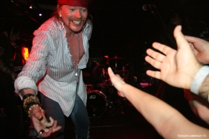 Axle Rose @ varvatos bowery