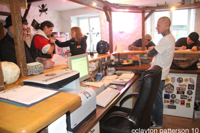 Back in Bad ISchl- hanging at Tattoo to the Max- | CLAYTON PATTERSON L