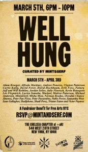 Well Hung Art show