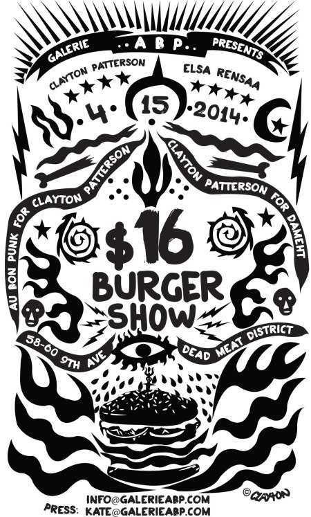 The $16 Burger Show: Clayton Patterson & Elsaa Rensaa